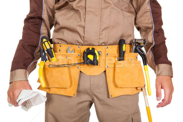 Toolbelt of a worker Stock photo © AndreyPopov