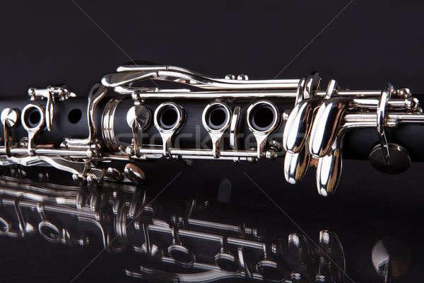 Close-up Of Clarinet Stock photo © AndreyPopov