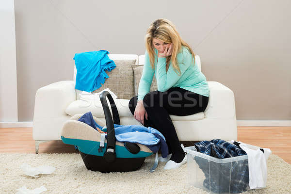 Post Natal Depression Stock photo © AndreyPopov