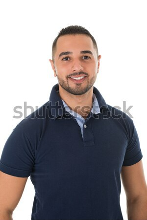 Portrait Of Happy Young Man In Casuals Stock photo © AndreyPopov