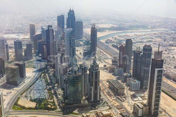 Skyscrapers In Dubai, UAE Stock photo © AndreyPopov