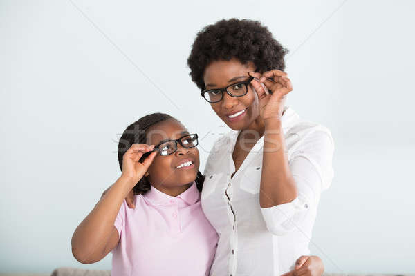 Portrait Of A Daughter And Mother Stock photo © AndreyPopov