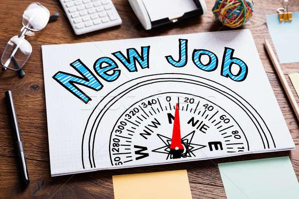 New Job Employment Concept Stock photo © AndreyPopov