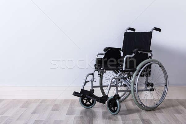 Empty Wheelchair In Room Stock photo © AndreyPopov
