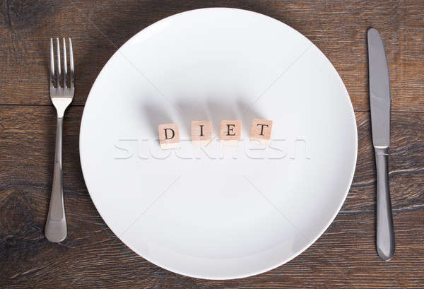 Diet and weight loss concept Stock photo © AndreyPopov