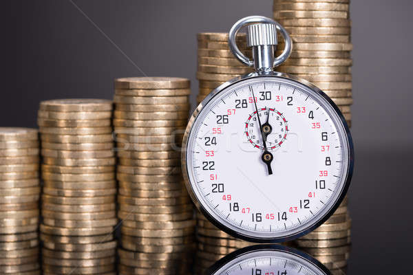 Time and money growth Stock photo © AndreyPopov