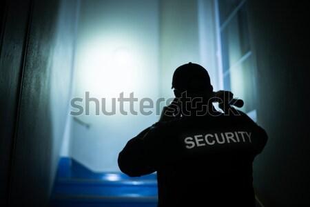 вора служба Постоянный компьютер дома Сток-фото © AndreyPopov