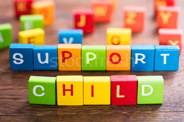 Child Support Concept Stock photo © AndreyPopov