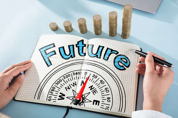 Future And Compass Guidance Concept Stock photo © AndreyPopov