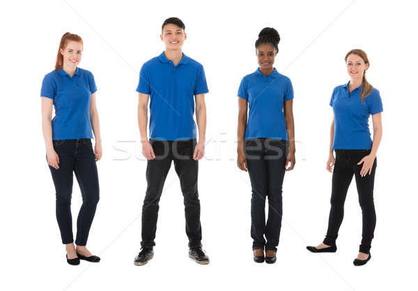Portrait Of Multiracial Janitors Stock photo © AndreyPopov