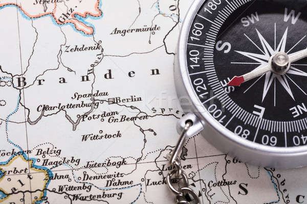 Close-up Of Compass Stock photo © AndreyPopov