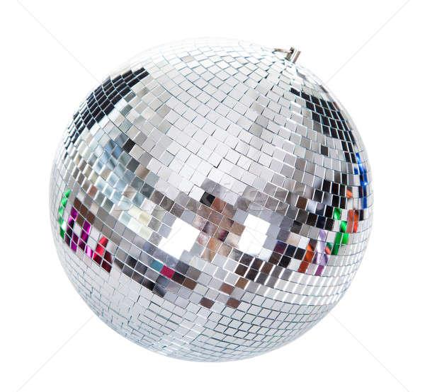 Disco ball geïsoleerd witte muziek partij Stockfoto © AndreyPopov