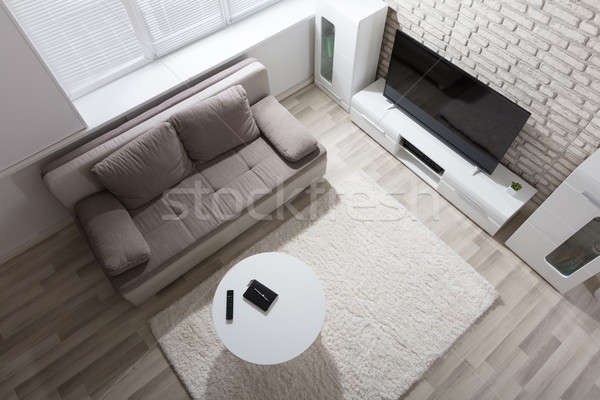 Elevated View Of Apartment Stock photo © AndreyPopov