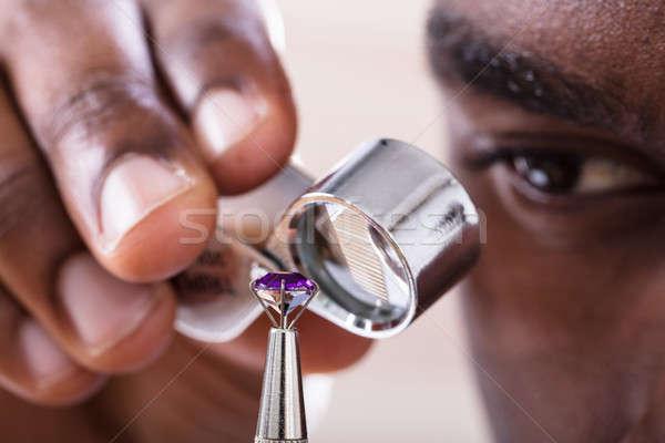 ювелир Diamond стороны Сток-фото © AndreyPopov