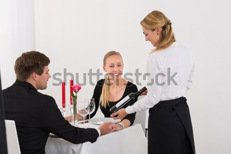 Businesswoman Warning Colleague While Being Sexually Abused Stock photo © AndreyPopov