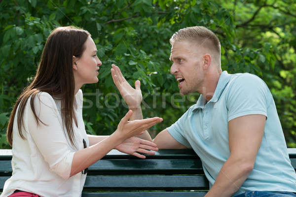 Couple Quarreling With Each Other Stock photo © AndreyPopov