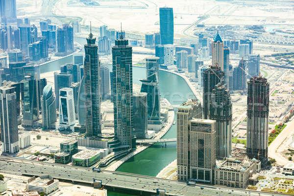 Dubai Cityscape Stock photo © AndreyPopov