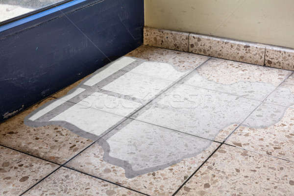 Flooded Floor From Water Leakage Stock photo © AndreyPopov