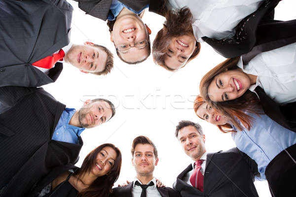 Business people standing in circle Stock photo © AndreyPopov