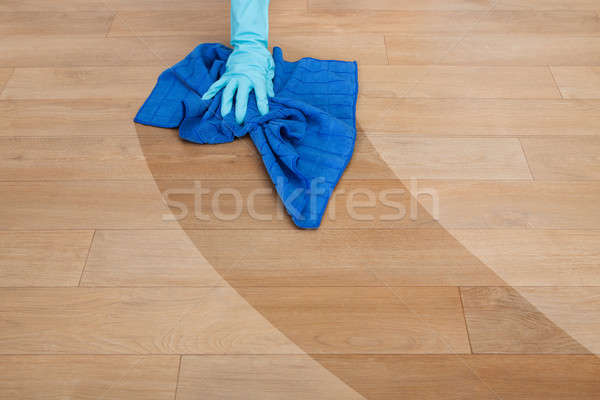 Maid Cleaning Floor Stock photo © AndreyPopov