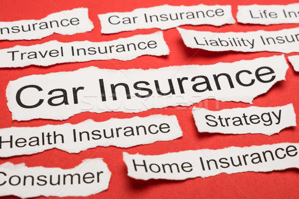 Car Insurance Text On Piece Of Torn Paper Stock photo © AndreyPopov