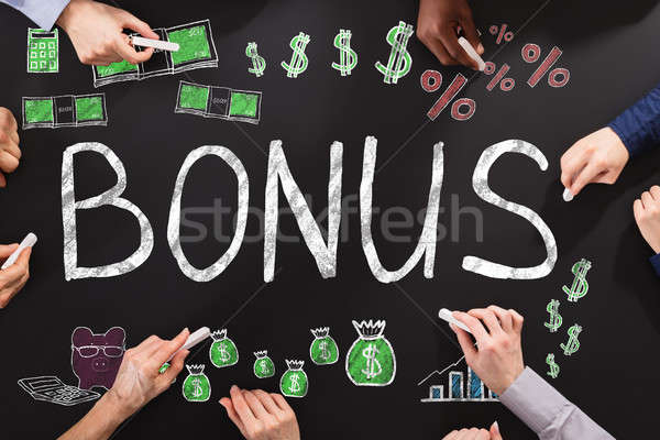 Bonus And Employee Compensation Concept Stock photo © AndreyPopov
