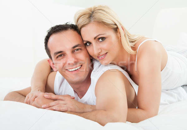 Portrait Of Happy Couple Stock photo © AndreyPopov