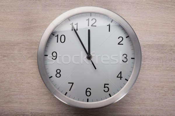часы пять полдень мнение Сток-фото © AndreyPopov
