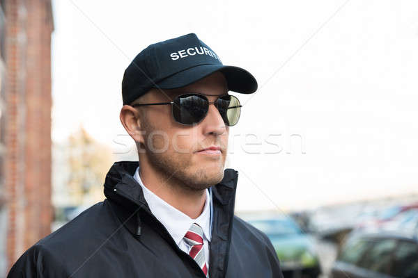 Portrait Of Young Security Guard Stock photo © AndreyPopov