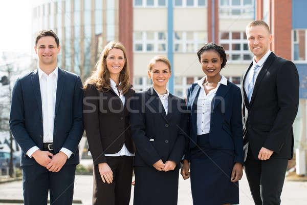 Group Of Happy Businesspeople Stock photo © AndreyPopov