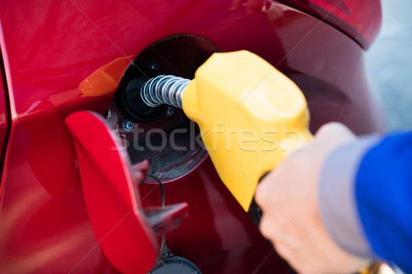 Person Refueling Car's Tank Stock photo © AndreyPopov