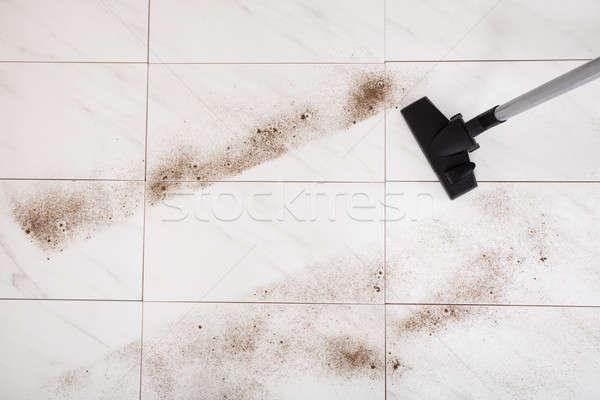 人 ほこり 階 クローズアップ ホーム 家 ストックフォト © AndreyPopov
