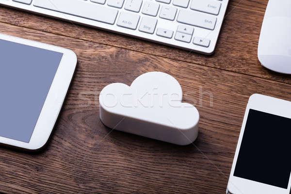 Cloud Computing Technology Concept Stock photo © AndreyPopov