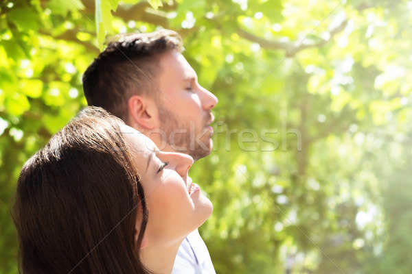 Close-up Of A Happy Couple Stock photo © AndreyPopov