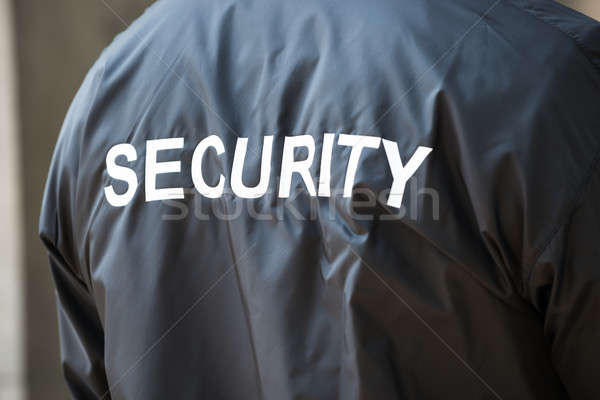 Security Guard Jacket Stock photo © AndreyPopov
