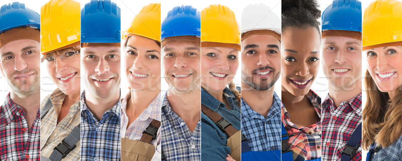 Set Of Construction Workers Stock photo © AndreyPopov
