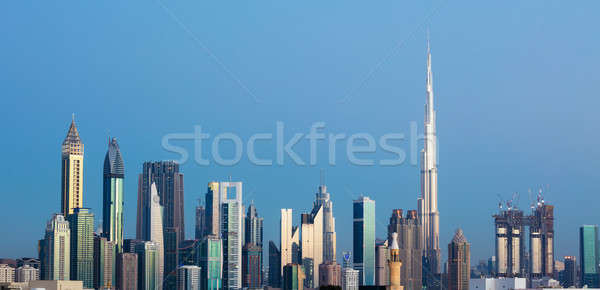 Dubai Skyline, UAE Stock photo © AndreyPopov