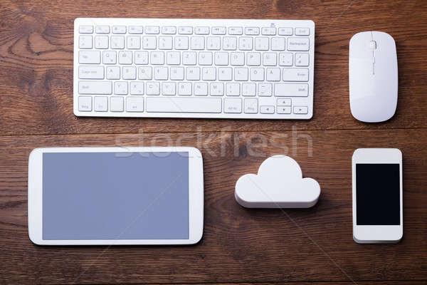 Stock photo: Cloud Computing Technology Concept
