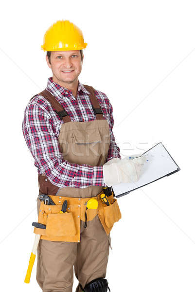 Portrait of construction worker Stock photo © AndreyPopov