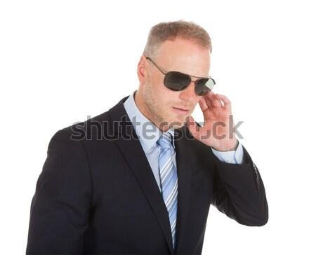 Bodyguard Wearing Sunglasses Stock photo © AndreyPopov