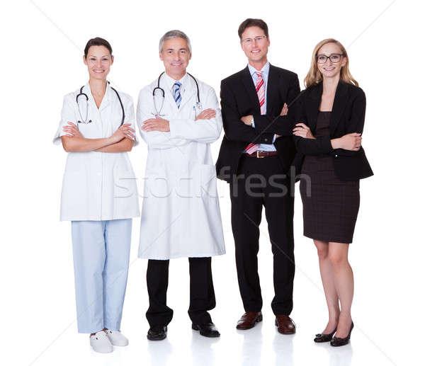 Professionele ziekenhuis personeel beide medische beroep Stockfoto © AndreyPopov