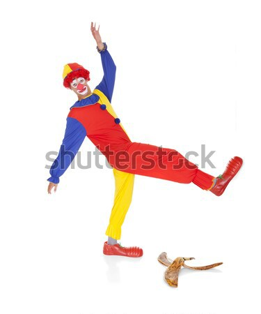 Joker About To Fall Stock photo © AndreyPopov