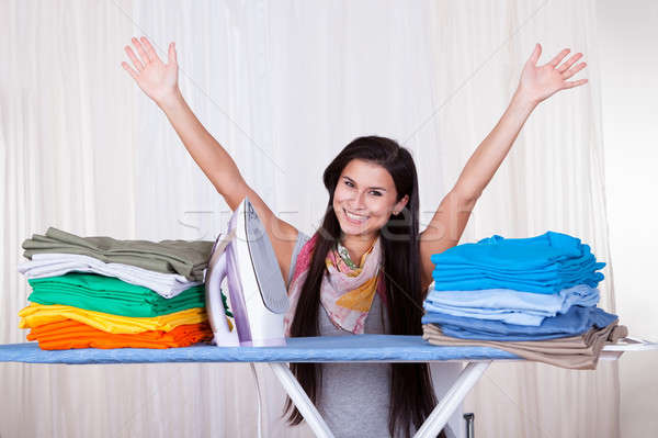 The ironing is finished Stock photo © AndreyPopov