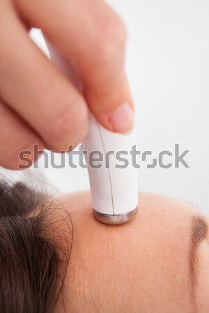 Woman Under Going Microdermabrasion Treatment Stock photo © AndreyPopov