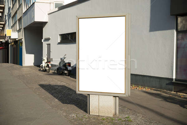 Blank Vertical Billboard Stock photo © AndreyPopov