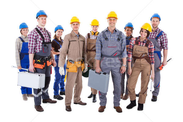 Large group of diverse workers Stock photo © AndreyPopov