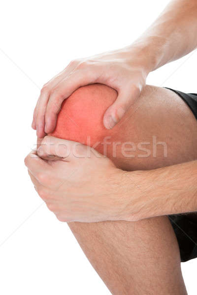 Man Having Knee Injury Stock photo © AndreyPopov