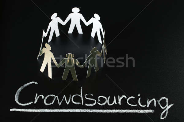 Crowdsourcing Concept Stock photo © AndreyPopov