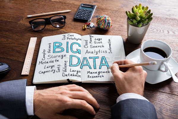 Businessperson Working On Big Data Concept Stock photo © AndreyPopov