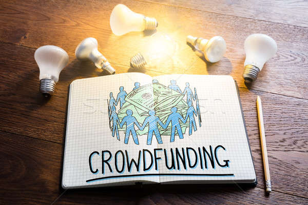 Crowdfunding Concept Stock photo © AndreyPopov